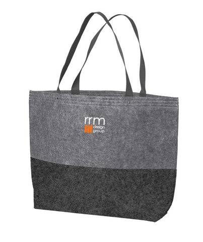 RRM27 - RRM Design Group Large Felt Tote
