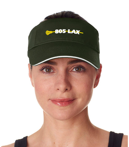 805 Lacrosse - Brushed Cotton Twill Sandwich Visor
