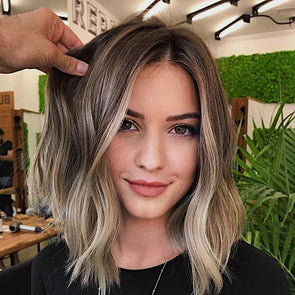 2019 Beauty Short Blonde Wig