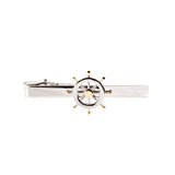 Ship Wheel Tie Clip