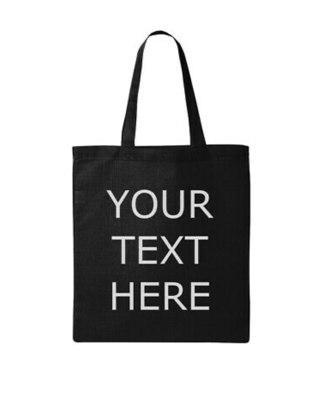 Custom Personal Tote Bag