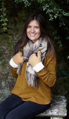 Pass On Ladies Sheepskin Mittens for Their Next Birthday