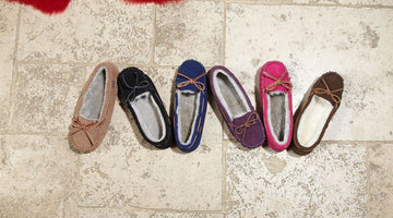 Keep Your Feet Cosy & Comfortable With Stylish Women's Moccasin Slippers