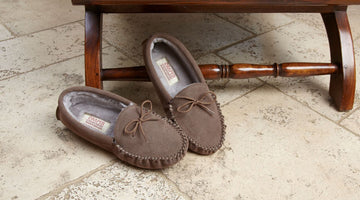 Men's Moccasin Slippers - Top Quality, Best Look & Most Suitable for Modern Attire