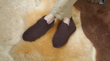 Men's Luxury Shearling Footwear - A Hallmark Of Premium Quality And Durability