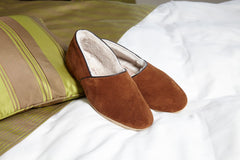 Sheepskin Slippers Mens