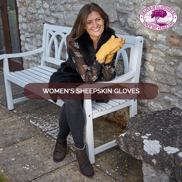 women sheepskin gloves