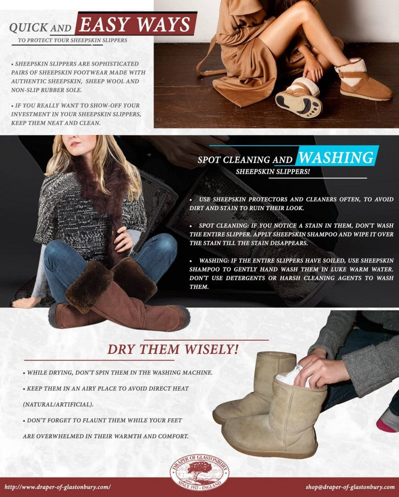 Quick and Easy Ways to Protect Your Sheepskin Slippers