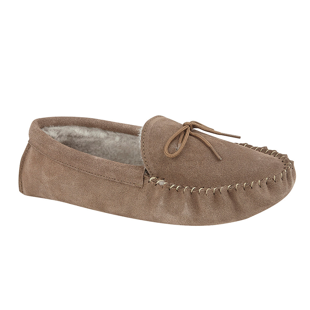 6570a2ed4c5 Mens Sheepskin Slippers | Lined Moccasin Slippers and Boots | Drapers