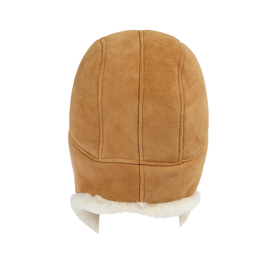 WOMEN'S SHEEPSKIN TRAPPER HAT
