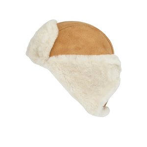 MEN'S SHEEPSKIN TRAPPER HAT