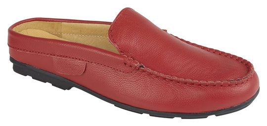 STEPH - RED LEATHER