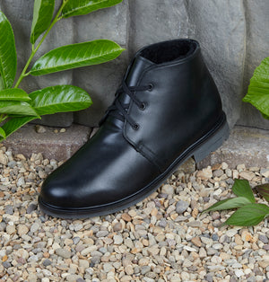 SOMERSET - BLACK LEATHER
