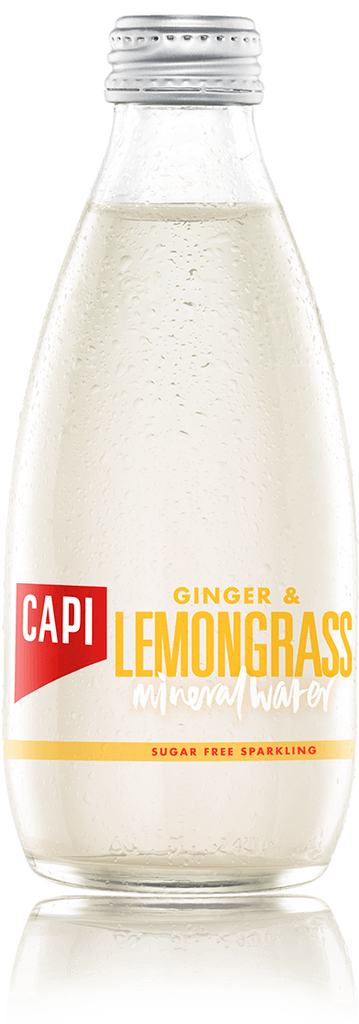 Capi Soda 250ml - Ginger & Lemongrass - Sugar free