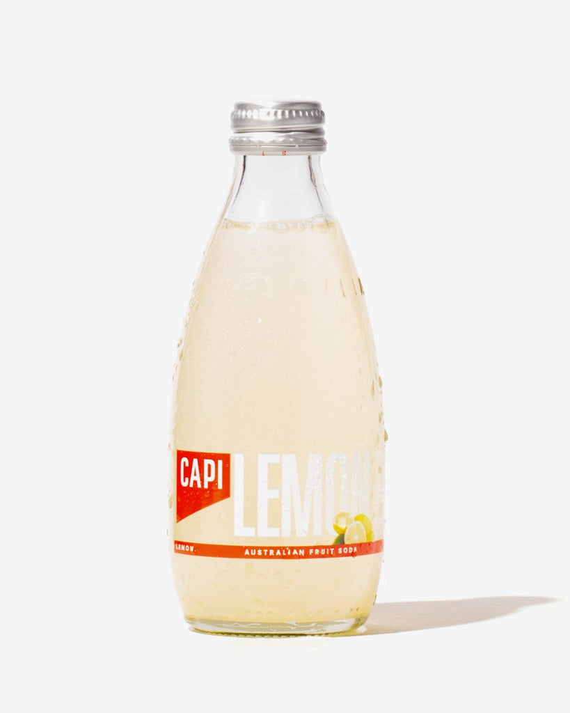 Capi Soda 250ml - Lemon