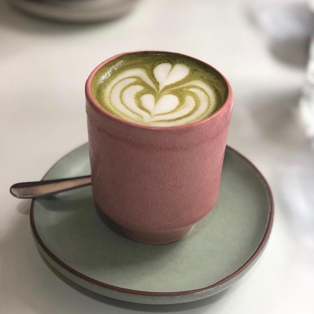 Matcha Maiden Green Tea Latte 8oz
