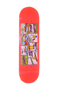 Slappy skateboard deck - How To Slappy