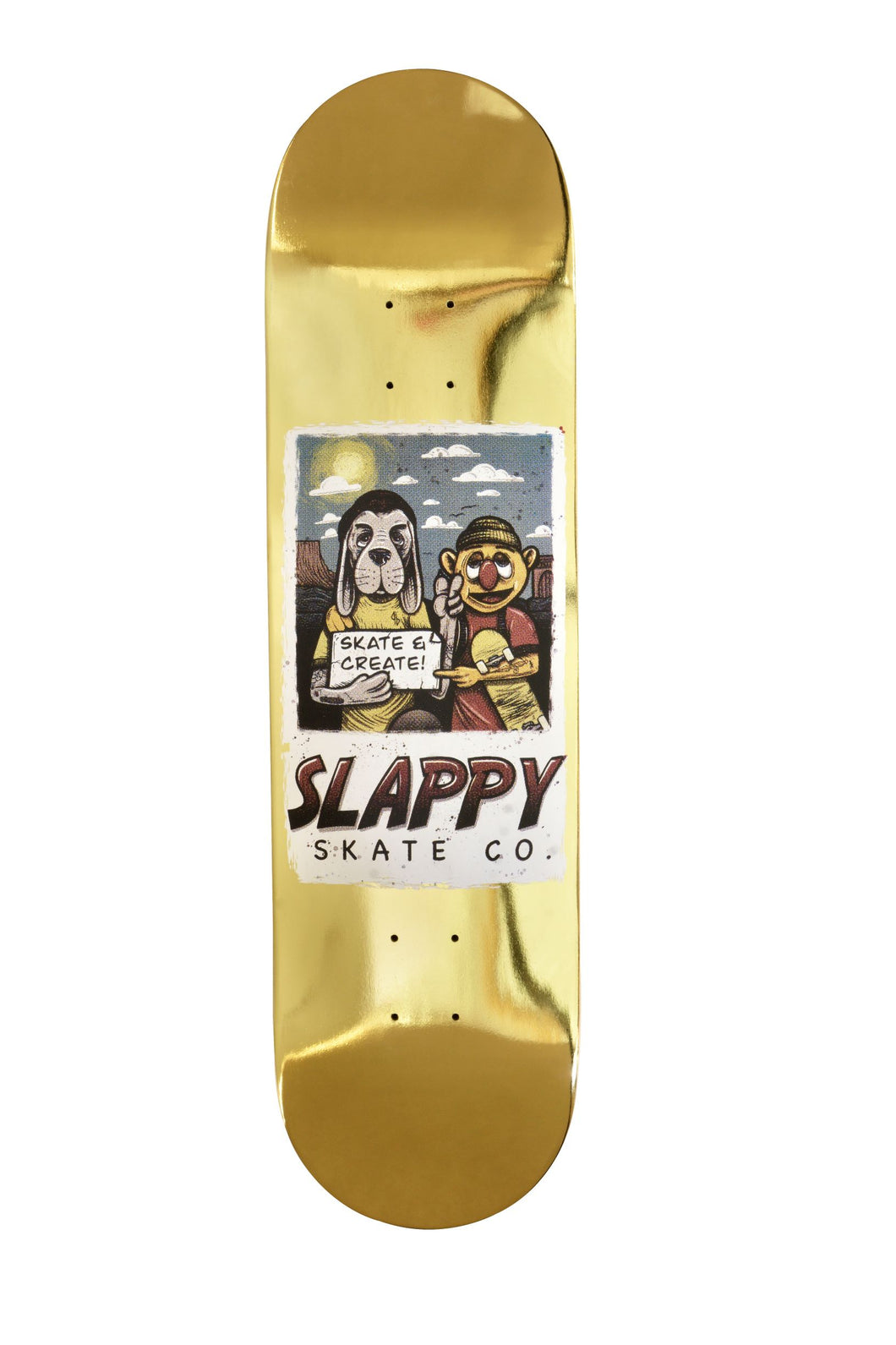 Slappy Skateboard - Skate and Create