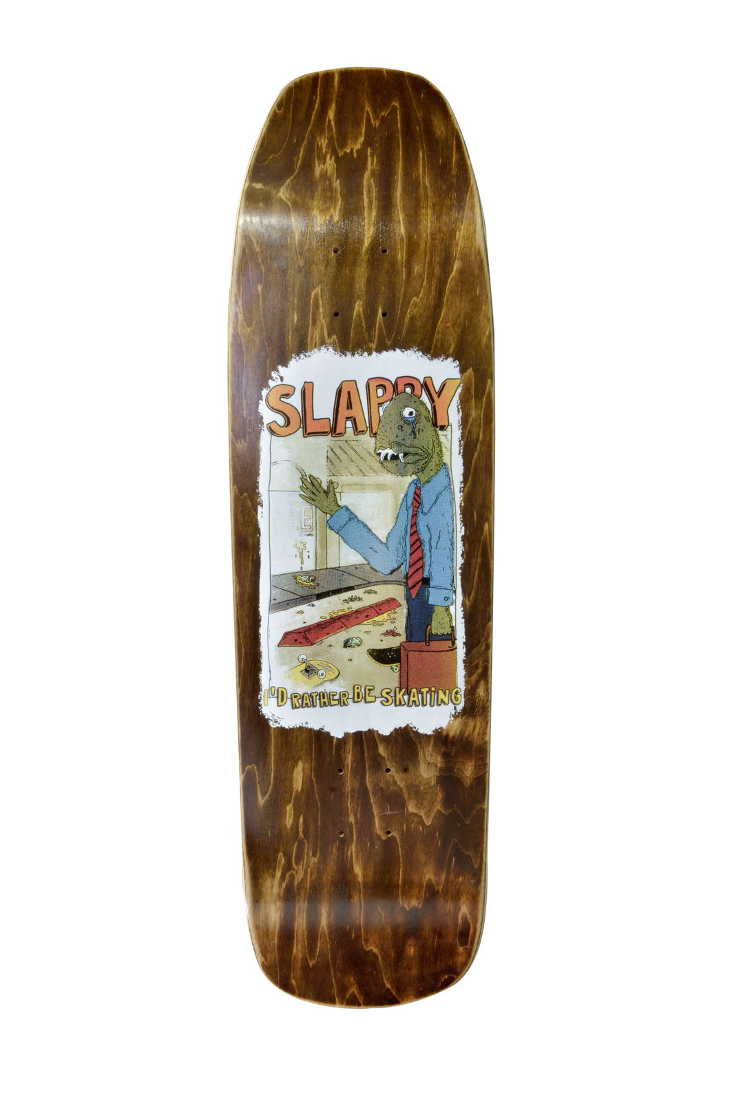 Slappy Skateboard Deck - Old School 6