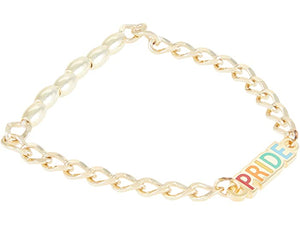 Alex and Ani Color Infusion Pride Stretch Bracelet