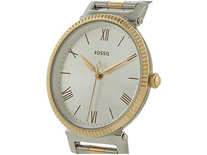 Fossil Daisy Three-Hand Two-Tone Stainless Steel Watch and Bracelet Set - ES4914SET