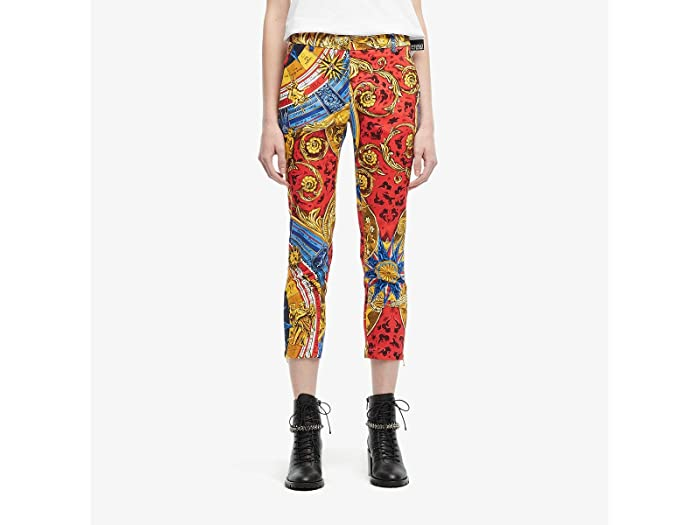 Moschino Printed Crop Pants