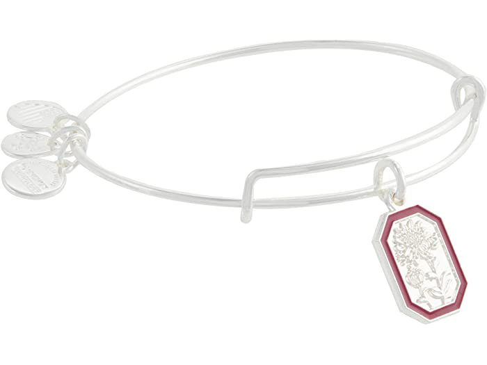 Alex and Ani Chrysanthemum Flower Bangle Bracelet