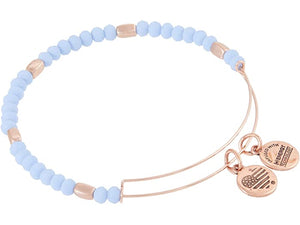 Alex and Ani Periwinkle Siren Bead Bracelet