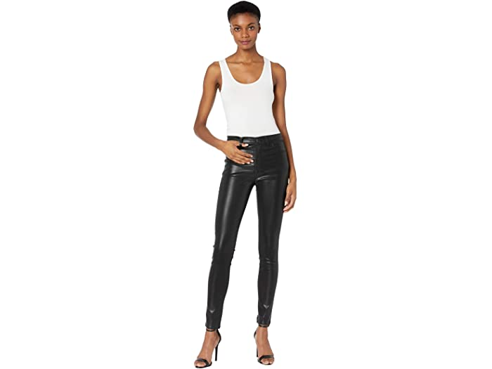 J Brand Maria High-Rise Skinny in Stellar Black