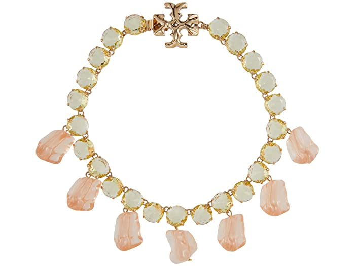 Tory Burch Ice Cube Statement Necklace