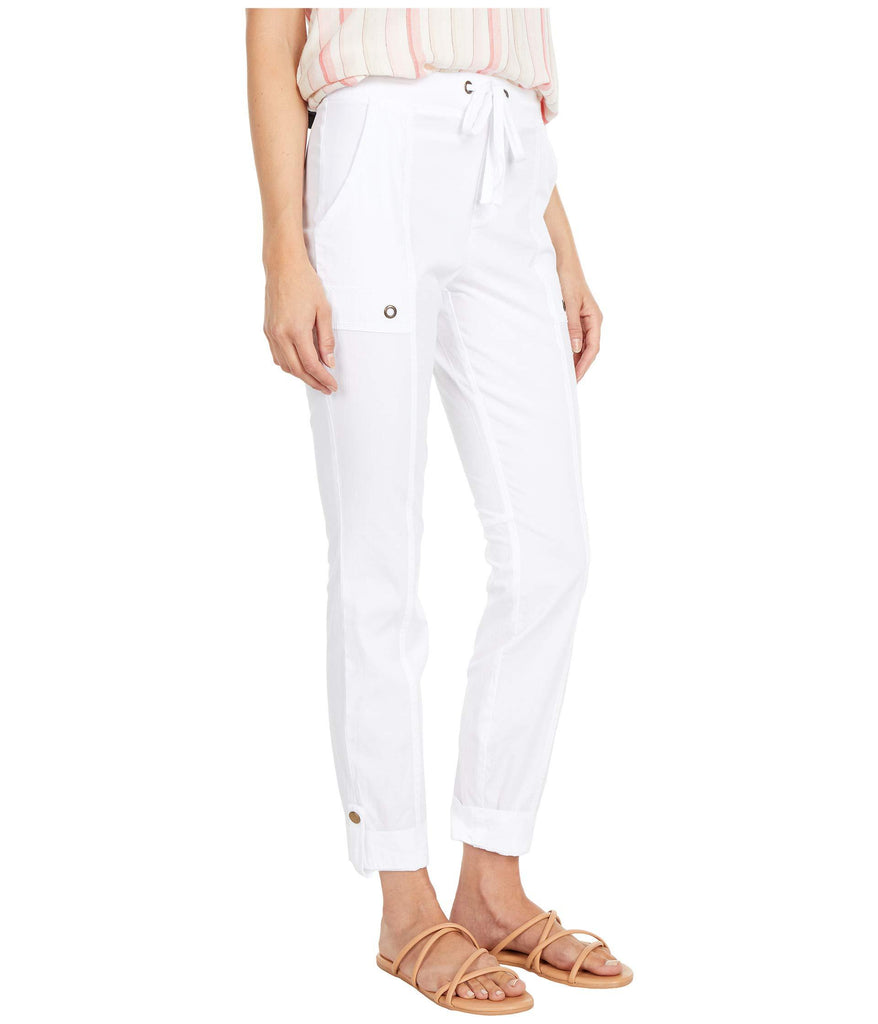 Wearables Right On Crop Pants in Stretch Poplin