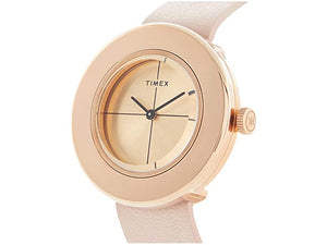Timex 34mm Variety Complete Watch Rose Gold Case