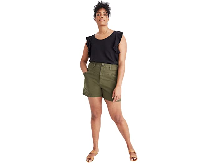 Madewell Emmett Shorts with Yoke
