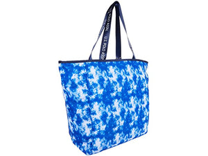 U.S. POLO ASSN. Tie-Dye Canvas Tote