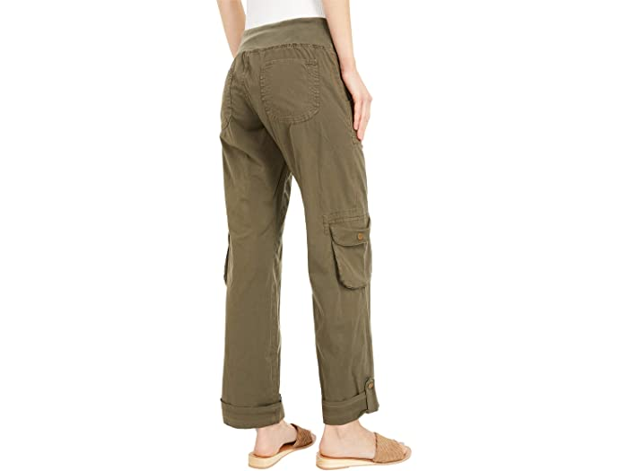 XCVI Wearables Django Ankle Pants in Stretch Poplin