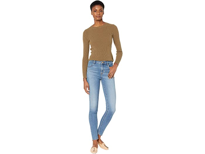 J Brand Maria High-Rise Skinny in Uncharted