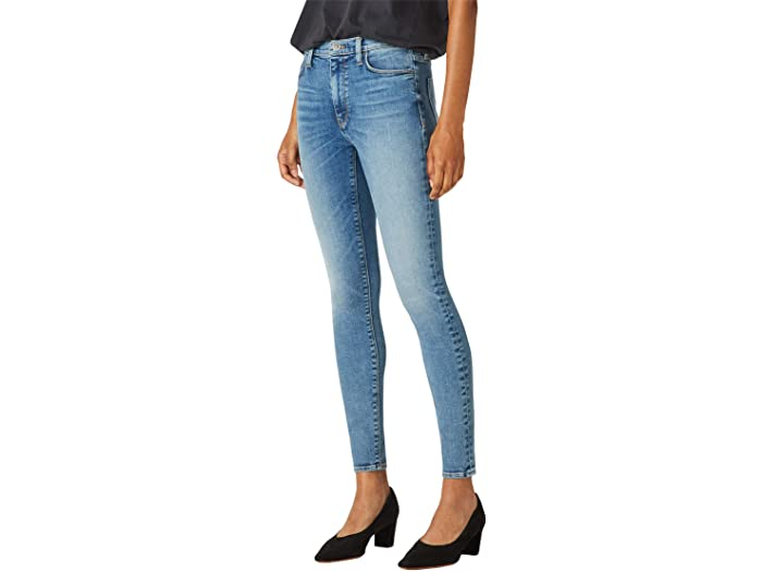 Hudson Jeans Barbara High-Waist Skinny Ankle in Perogative