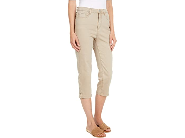 FDJ French Dressing Jeans Solid Cool Twill Suzanne Capris in Jute