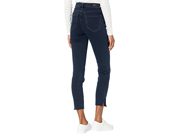 Nicole Miller New York Soho High-Rise Ankle Skinny Abyss in Dark Blue
