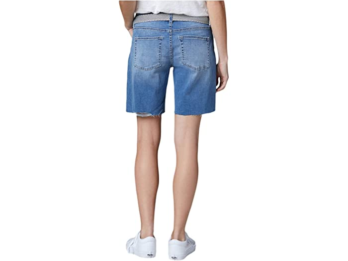 Jag Jeans Demi Belted Denim Boyfriend Shorts