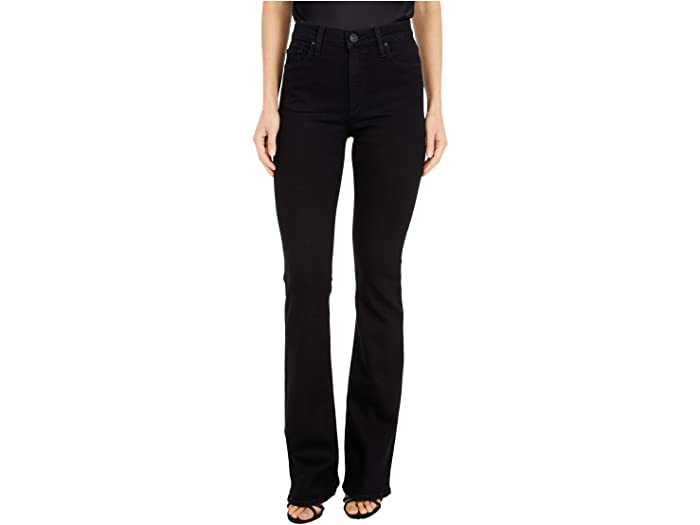 Hudson Jeans Barbara High-Waisted Bootcut in Black