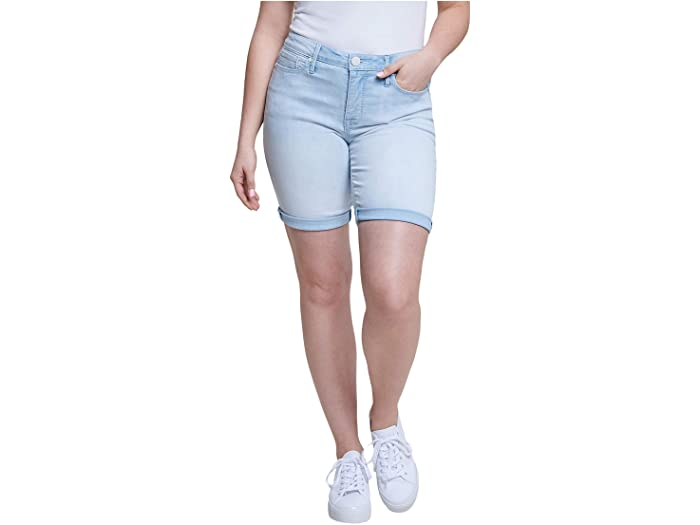 Seven7 Jeans Sunset Bermuda Shorts w/ Embroidered Yoke