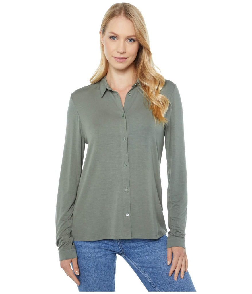 Long Sleeve Button Down Top