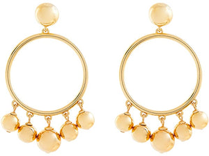 Kate Spade New York Large Bauble Hoop Earrings