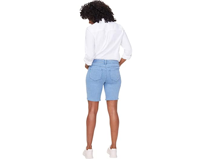 NYDJ Petite Petite Ella Shorts with Side Slits in Belle Isle
