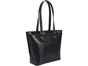 Calvin Klein Shopper Printed Textured Embossed Tote
