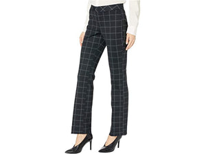 NYDJ Petite Petite Slim Trouser Pants in Mod Windowpane