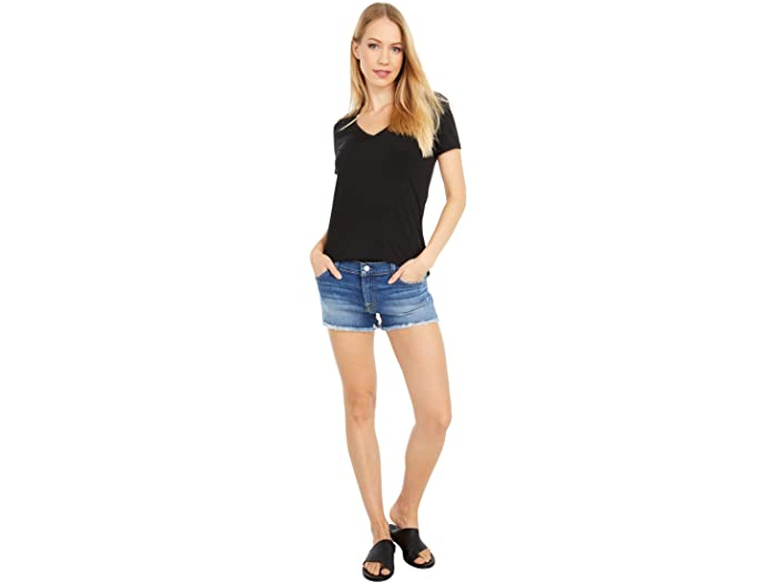 7 For All Mankind Cutoffs Shorts in Ocean Mist