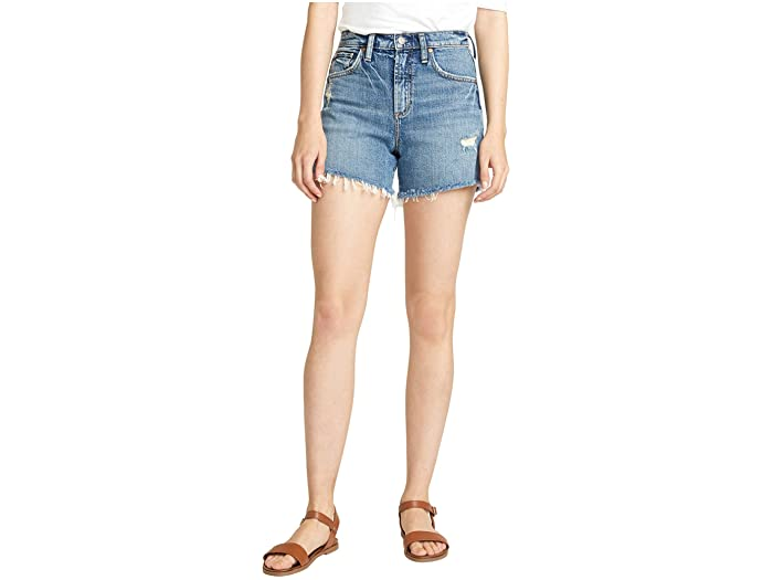 Silver Jeans Co. Frisco High-Rise Shorts L54605RCS248