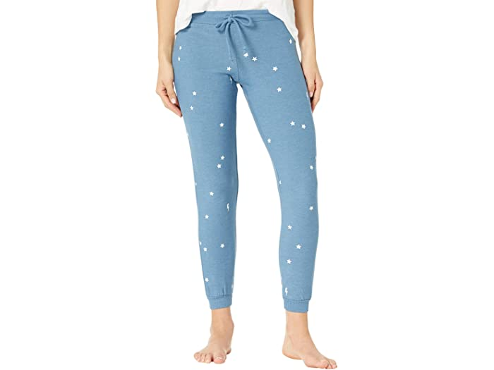 Chaser Starry Bolts Cozy Knit Pants